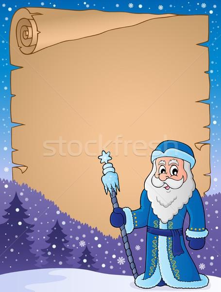 Apa fagy pergamen papír férfi ruházat Stock fotó © clairev