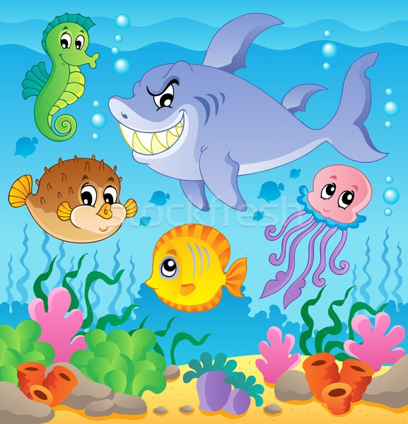 Image with undersea theme 3 Stock photo © clairev