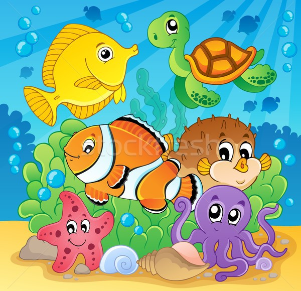 Coral fish theme image 2 Stock photo © clairev