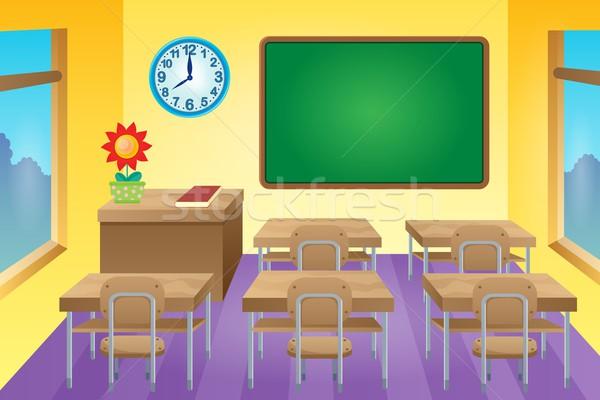 Classroom theme image 1 Stock photo © clairev