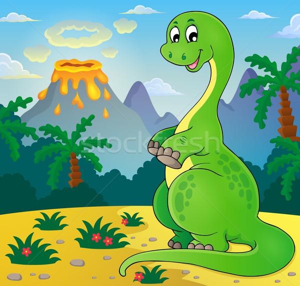 Image with dinosaur thematics 7 Stock photo © clairev