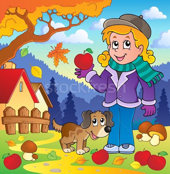 Autumn thematic image 1 Stock photo © clairev