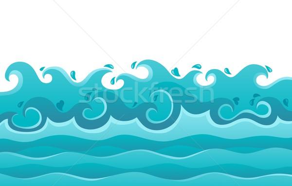 Waves theme image 6 Stock photo © clairev