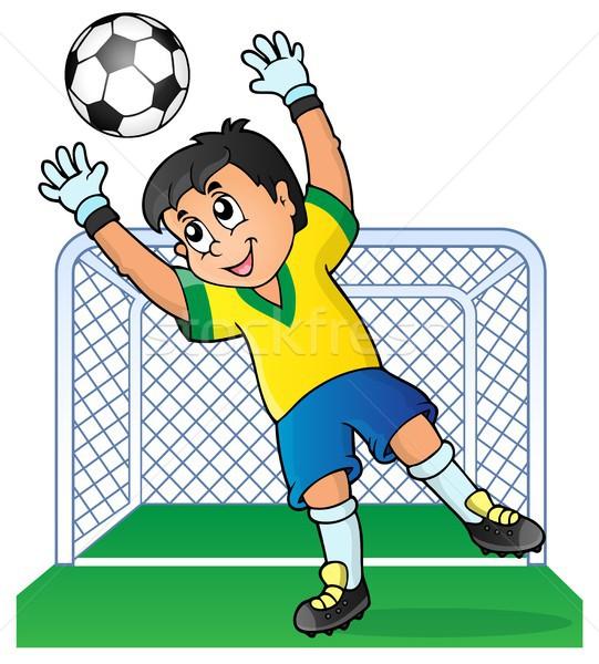Рисунок про футбол