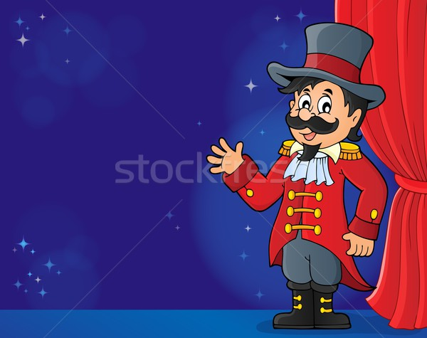 Circus ringmaster theme image 4 Stock photo © clairev