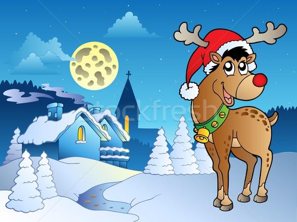 Merry Christmas theme 5 Stock photo © clairev