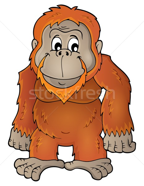 Orangutan theme image 1 Stock photo © clairev