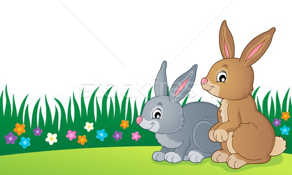 Rabbit topic image 7 Stock photo © clairev