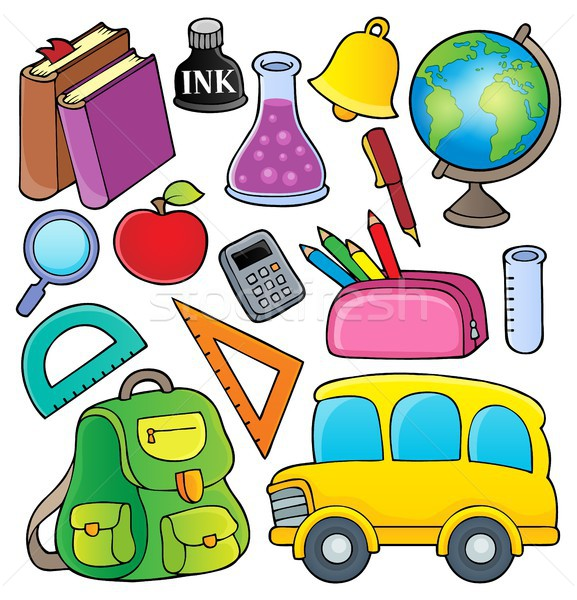 School related objects collection 1 Stock photo © clairev