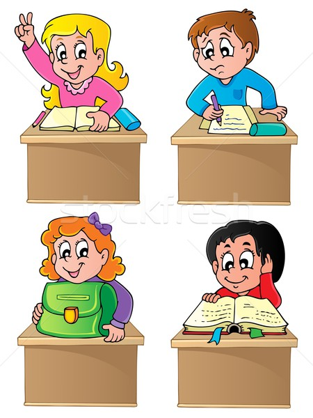 School pupils theme image 1 Stock photo © clairev