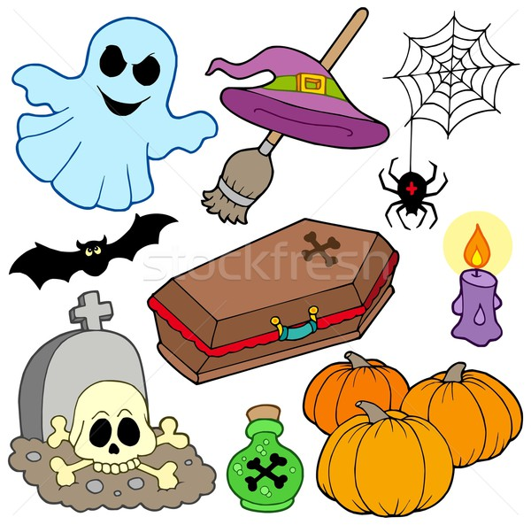 Various Halloween images 3 Stock photo © clairev
