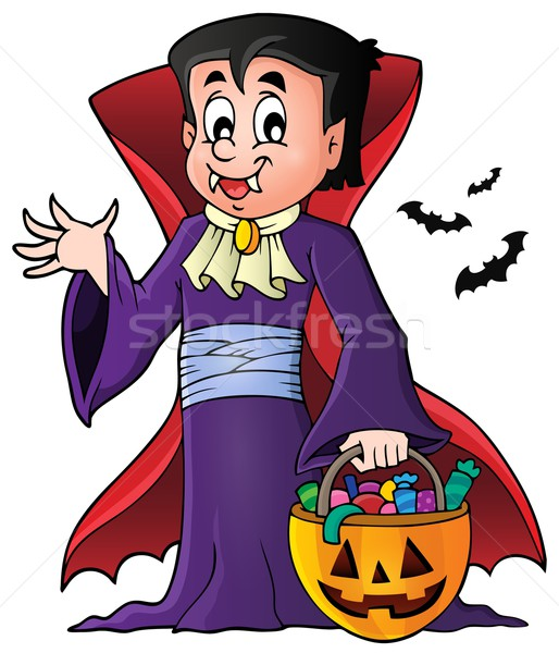 Halloween vampire theme image 1 Stock photo © clairev