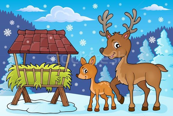 Deer theme image 4 Stock photo © clairev