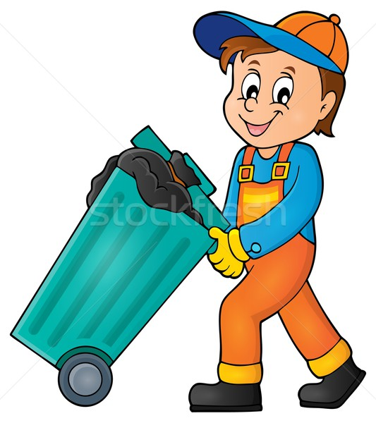 Garbage collector theme image 1 Stock photo © clairev