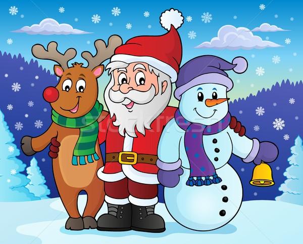 クリスマス 画像 幸せ 芸術 冬 ストックフォト © clairev