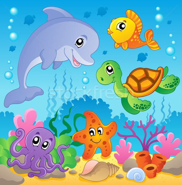 Image with undersea theme 2 Stock photo © clairev