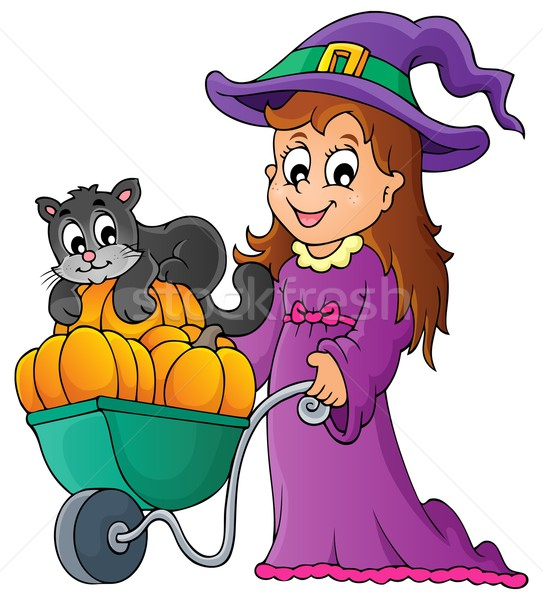 Halloween theme image 2 Stock photo © clairev