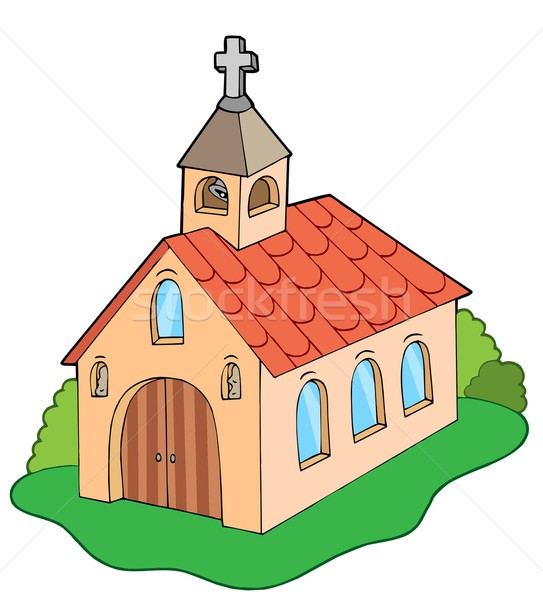 European style church Stock photo © clairev
