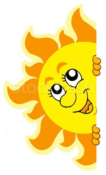 Lurking Sun Stock photo © clairev