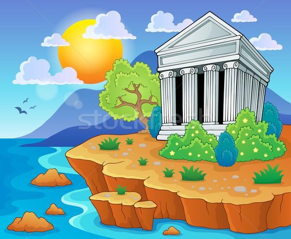 Greek theme image 3 Stock photo © clairev