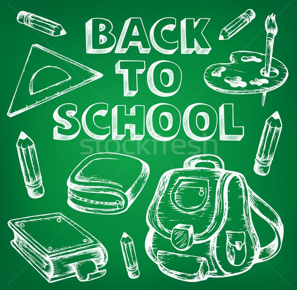 Back to school thematic image 7 Stock photo © clairev