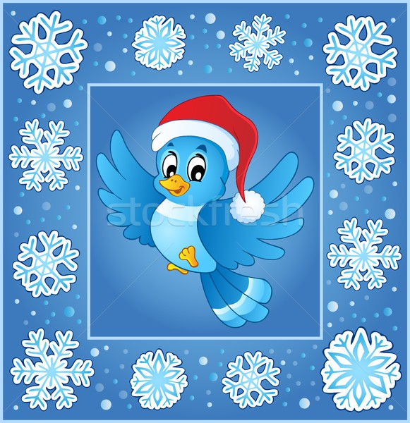 Christmas subject greeting card 5 Stock photo © clairev