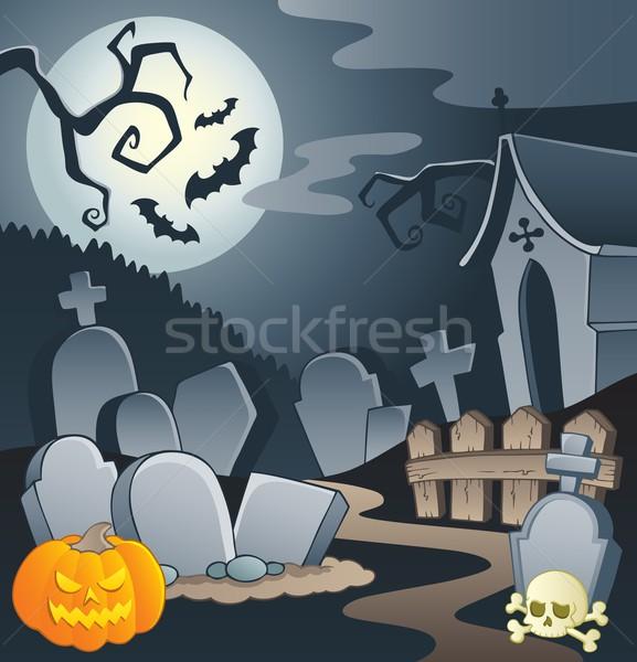 Cemetery theme image 1 Stock photo © clairev