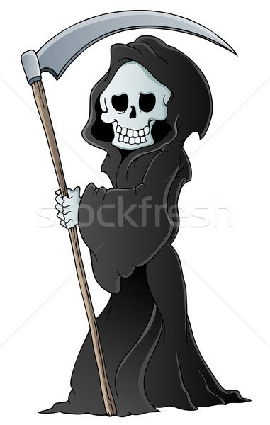 Grim reaper theme image 3 Stock photo © clairev