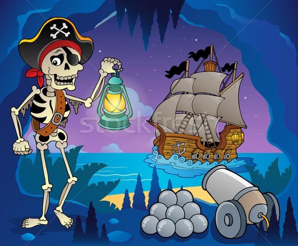Pirate cove theme image 6 Stock photo © clairev