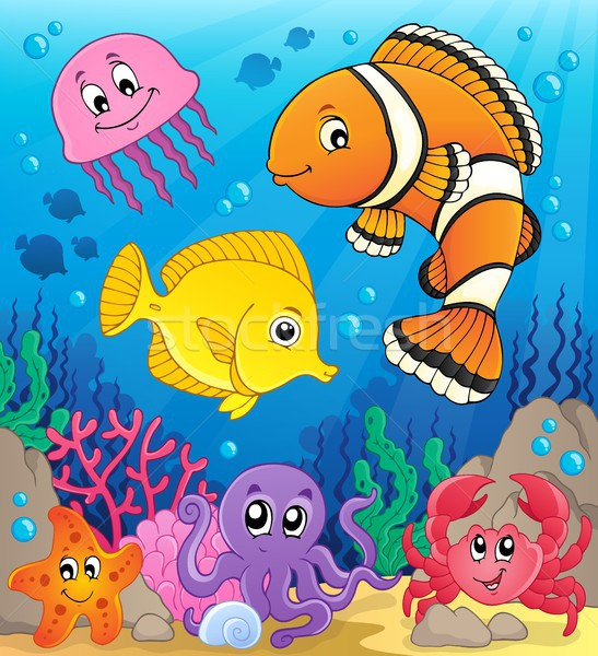 Coral fauna theme image 9 Stock photo © clairev