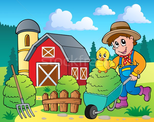 Farm theme image 7 Stock photo © clairev