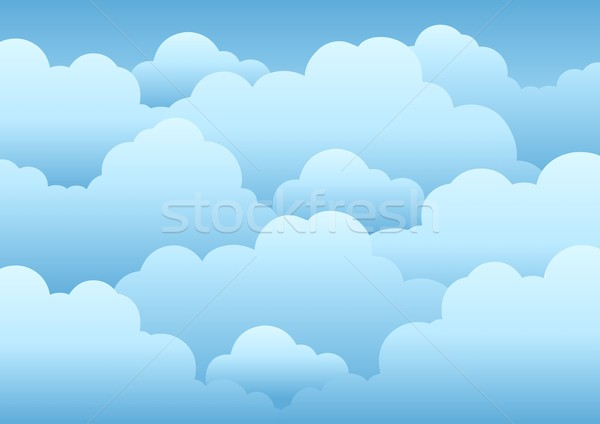 Cloudy sky background 1 Stock photo © clairev