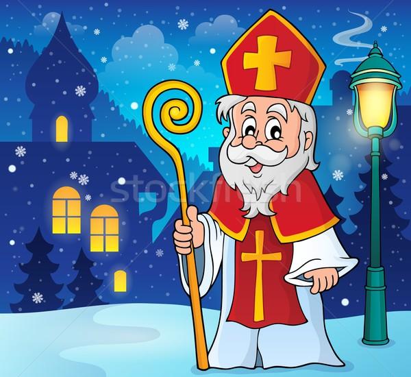 Saint Nicolas theme image 2 Stock photo © clairev