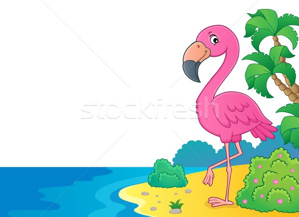 Flamingo topic image 6 Stock photo © clairev