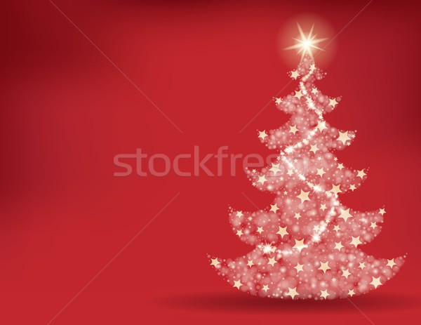 Christmas tree topic background 2 Stock photo © clairev