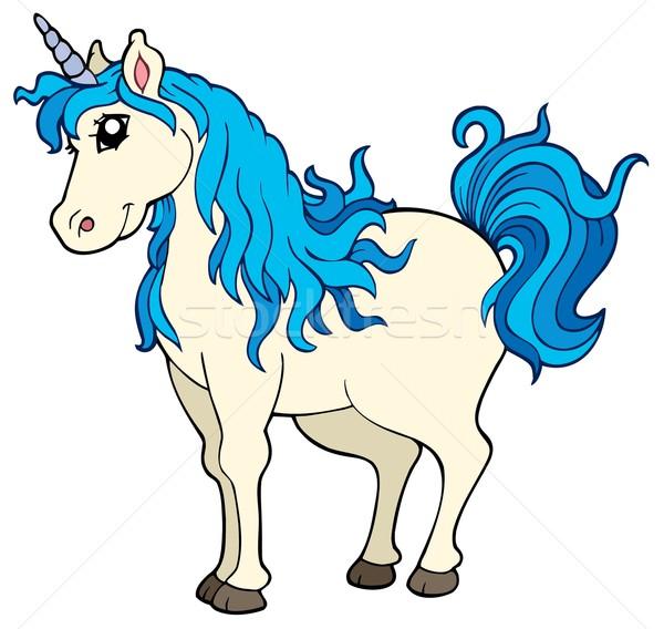 Cute unicorn Stock photo © clairev