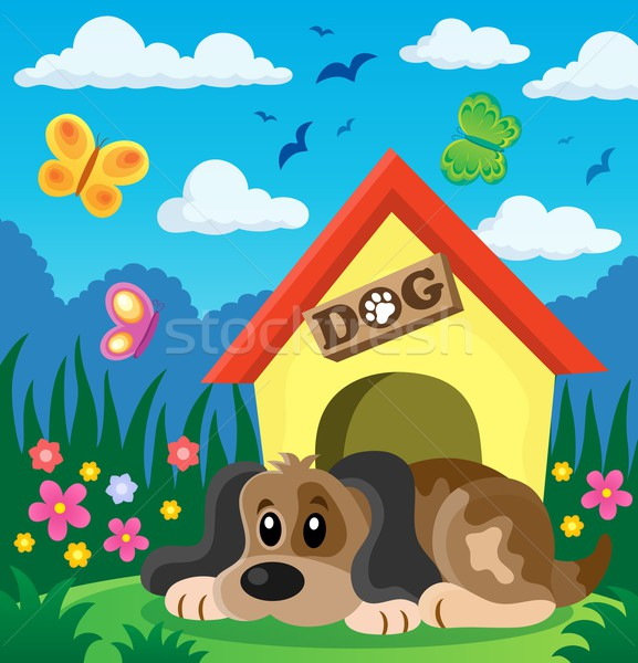 Dog thematic image 2 Stock photo © clairev
