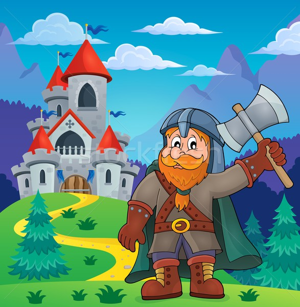 Dwarf warrior theme image 4 Stock photo © clairev
