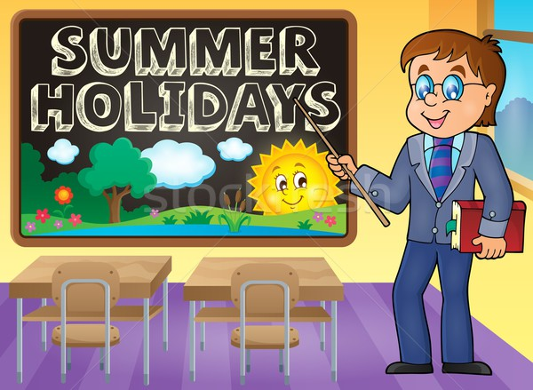 School holidays theme image 5 Stock photo © clairev