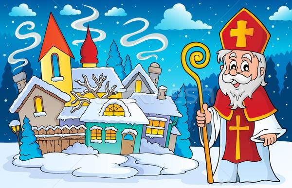Saint Nicolas theme image 4 Stock photo © clairev