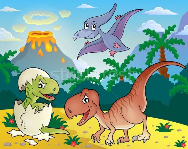 Dinosaur topic image 1 Stock photo © clairev