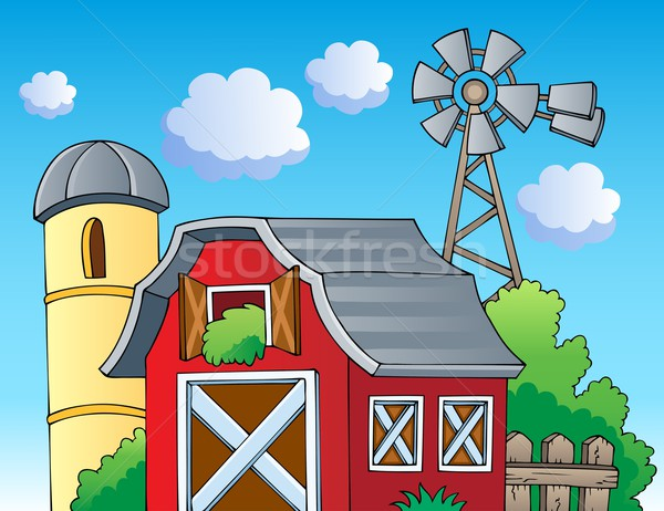 Stock photo: Farm theme image 2