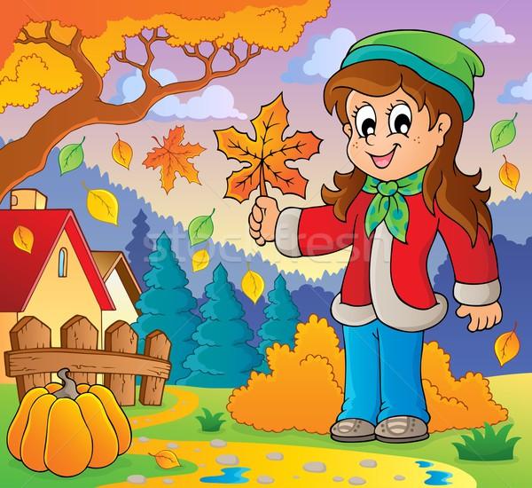 Autumn thematic image 8 Stock photo © clairev