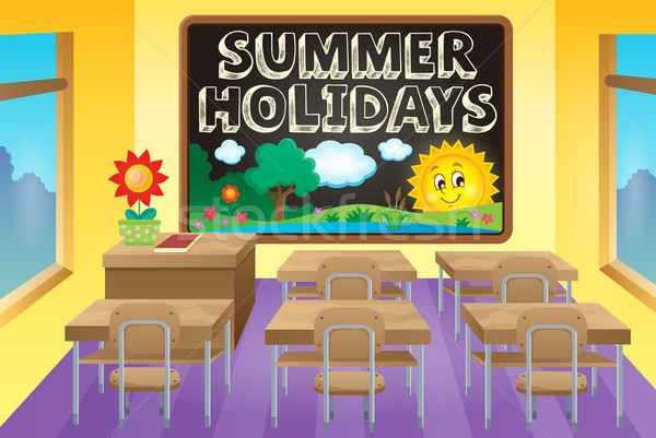 School holidays theme image 3 Stock photo © clairev