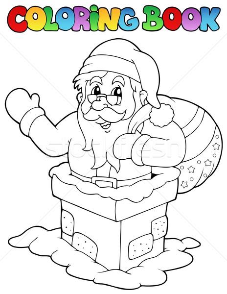 Boyama Kitabı Noel Baba Kitap Dizayn Boya Hediye