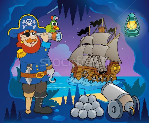 Pirate cove theme image 5 Stock photo © clairev