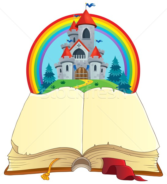 Fairy tale book theme image 2 Stock photo © clairev