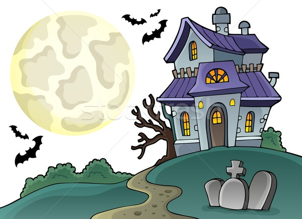 Haunted house theme image 1 Stock photo © clairev