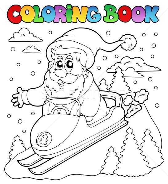Boyama Kitabi Noel Baba Konu Kitap Boya Seyahat