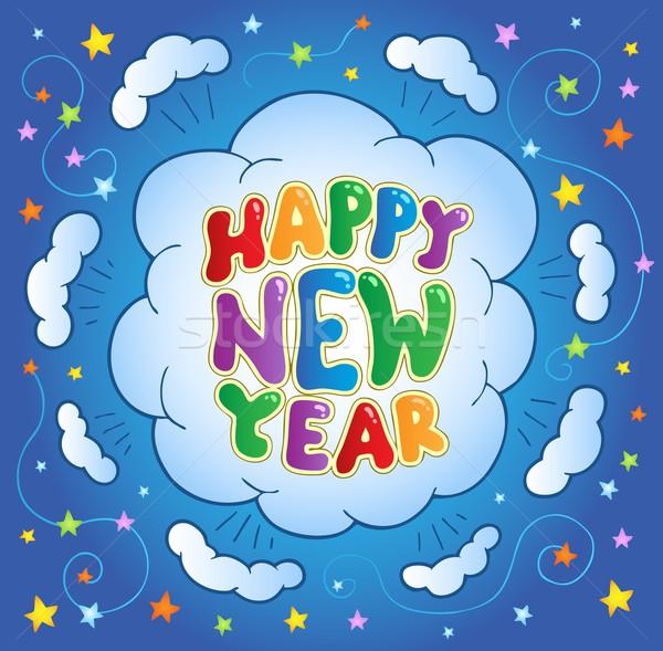 Happy New Year theme 2 Stock photo © clairev